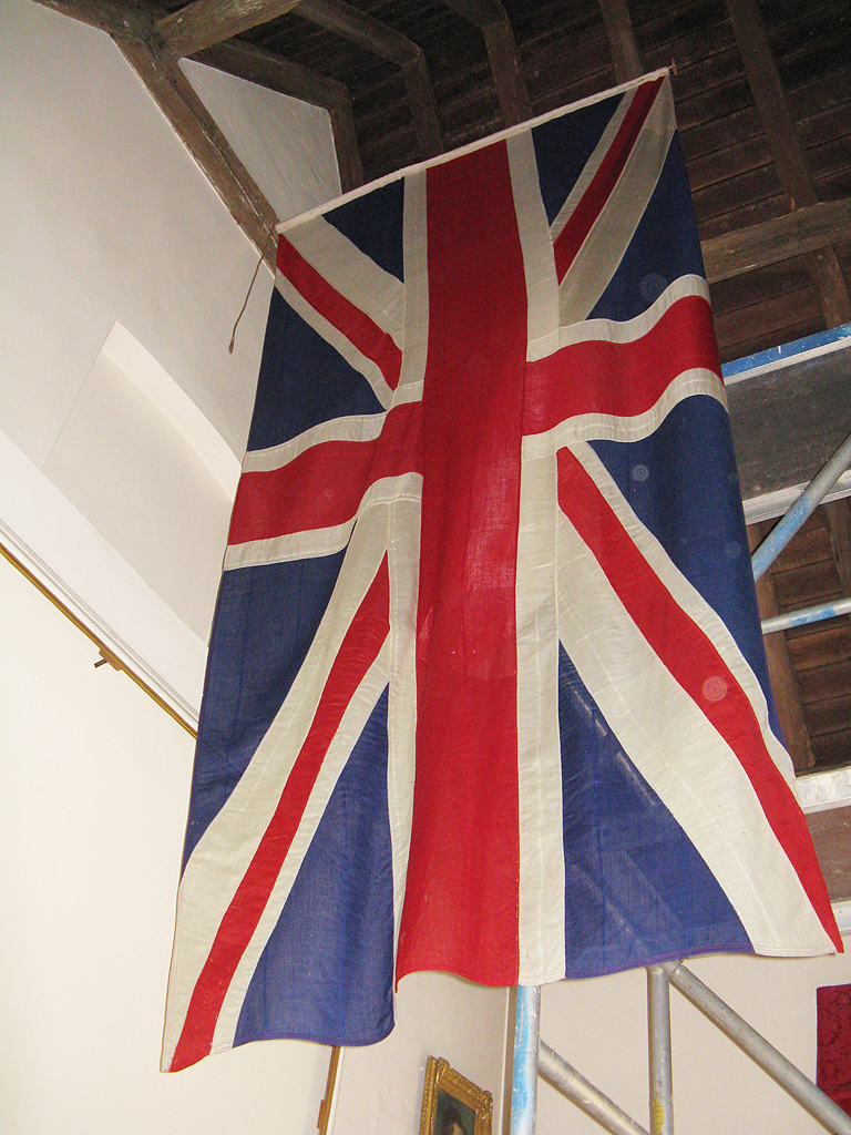 The Union Flag reinstated after treatment.