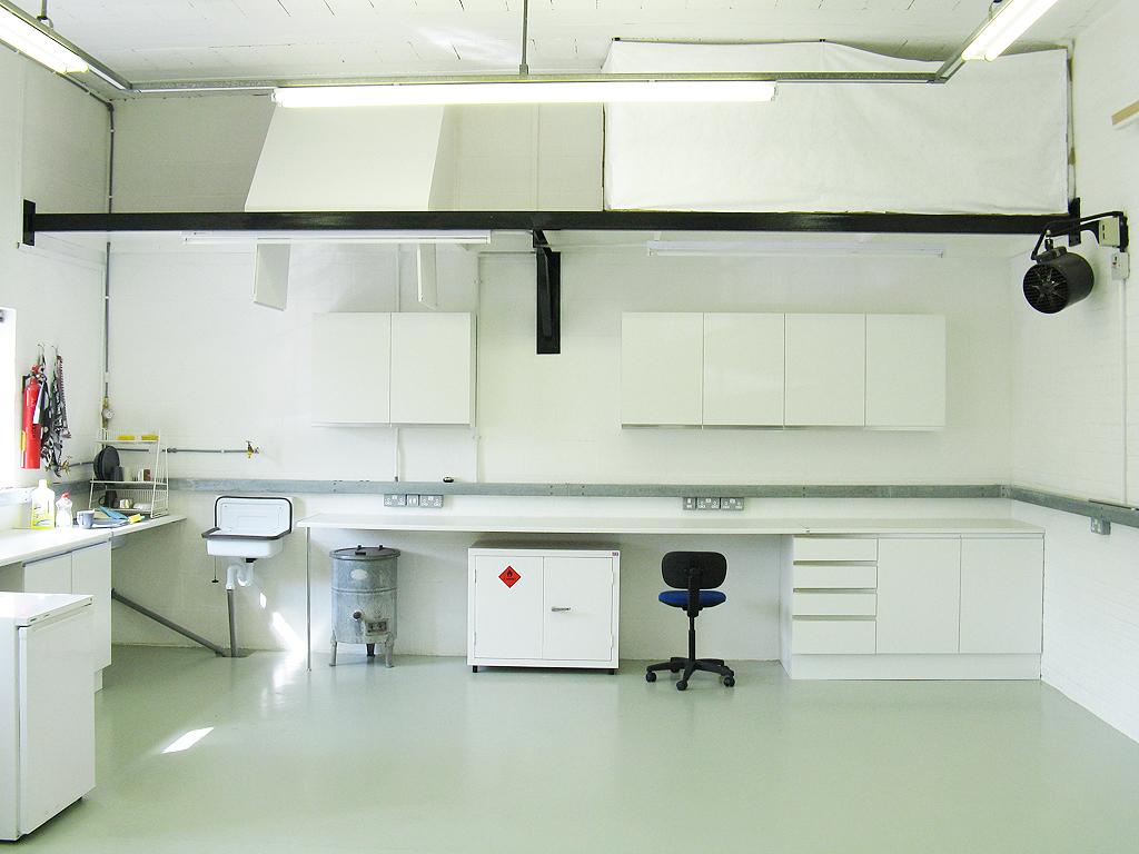 The Lab area of the Studio