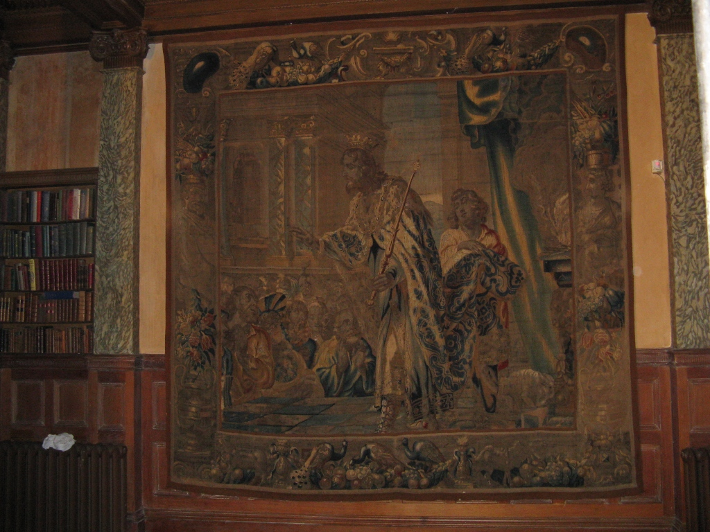 Tapestry reinstated after treatment.