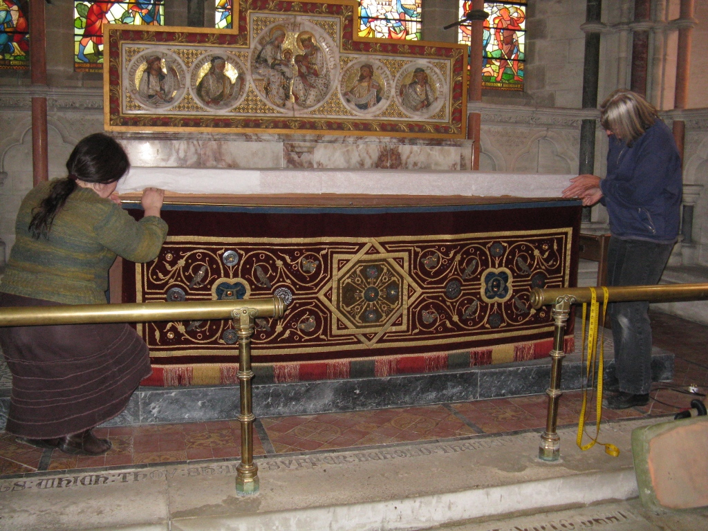 Reinstatement of the Altar Frontal Set.