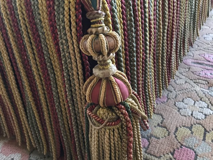 Ottoman Tassels at Audley End House