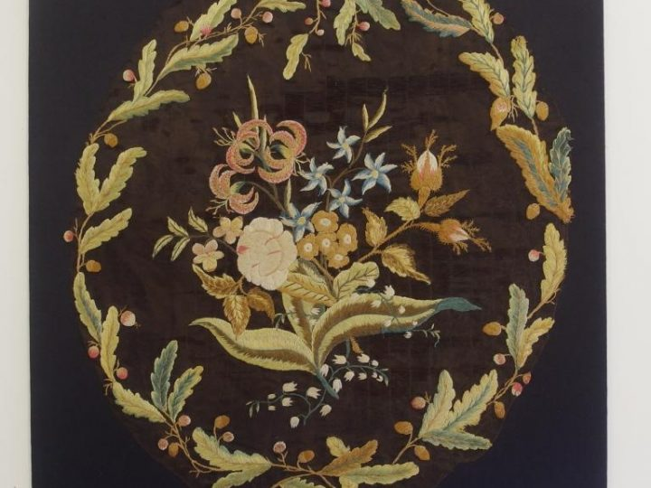 Conserving an Embroidered Fragment by Mrs Delany