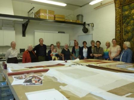 Visit by Cambridgeshire Guild of Weavers, Spinners, and Dyers
