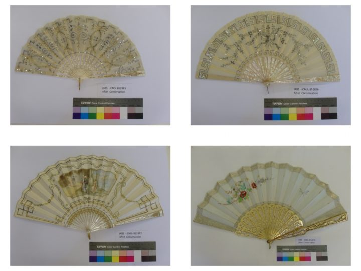 Fans in new display at Ickworth House