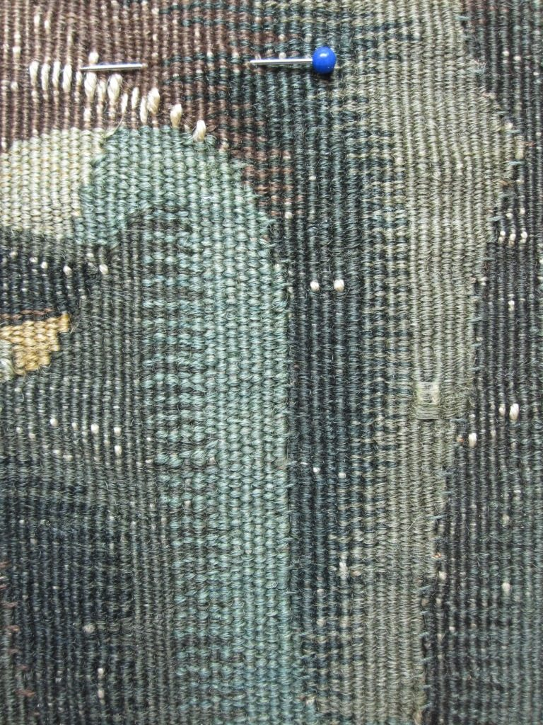An open slit after re-stitching