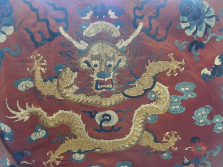 Chinese Robes Exhibited at Melford Hall
