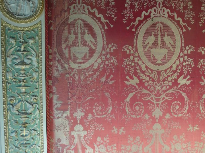 Conserving the Silk Wall-Coverings in the Boudoir at Arlington Court