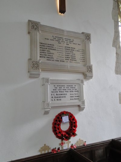 Arthur Pryke of Drinkstone – A War Memorial Remembered